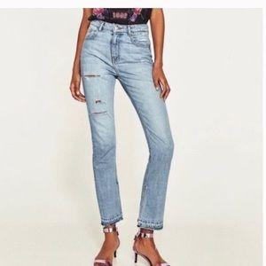 Zara woman denim collection jeans 4